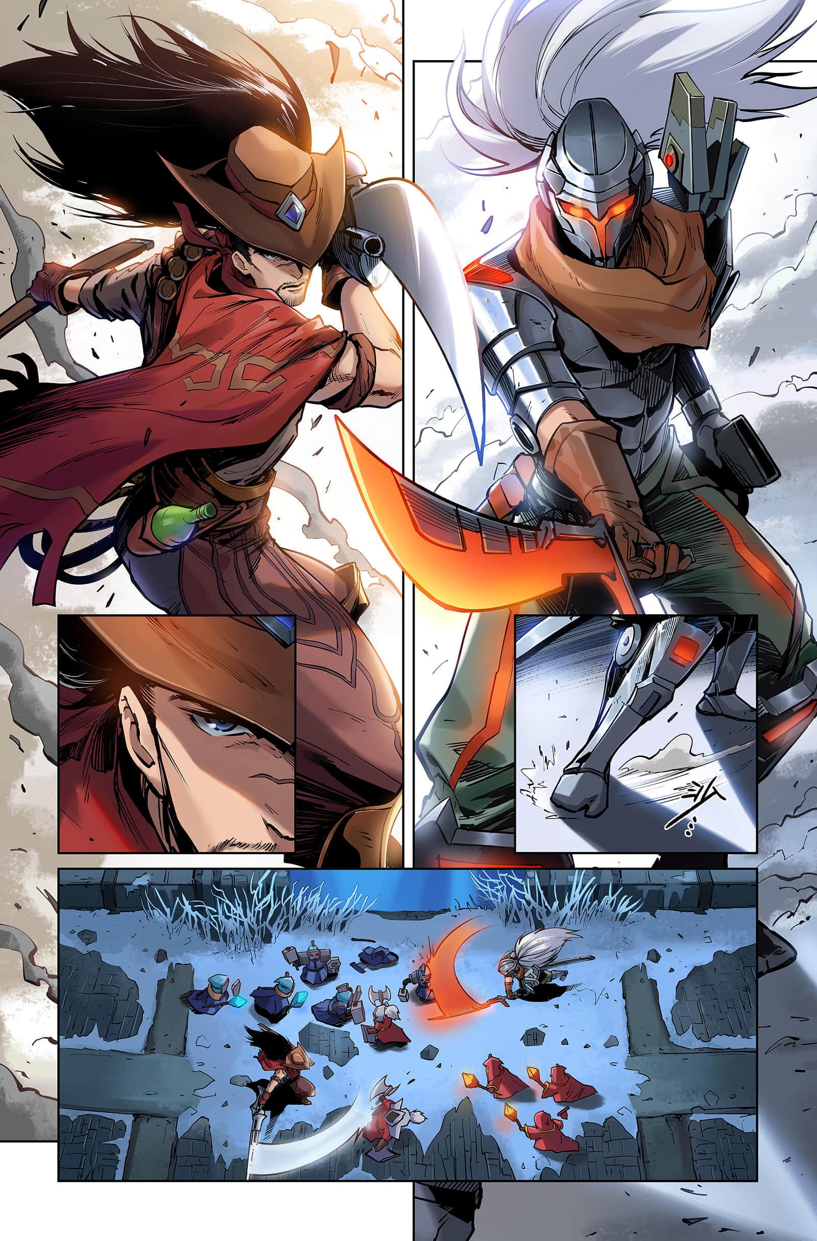 《英雄的信仰》:不仅仅是LOL电竞漫画,更是飞扬的青春-5