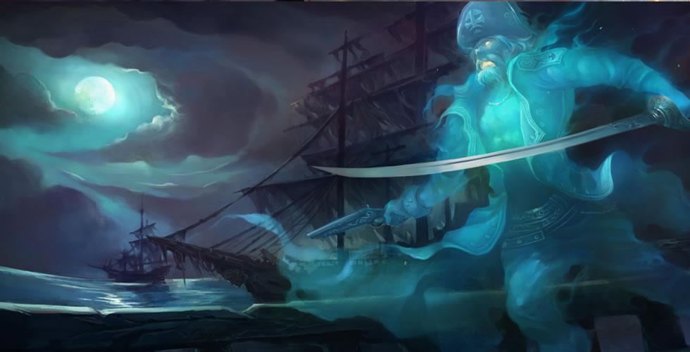 幽灵船长 普朗克