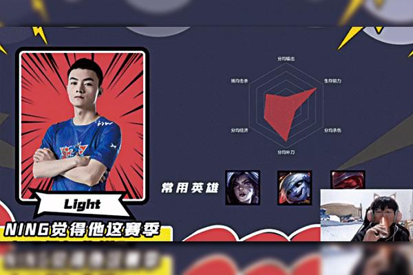 Ning王直播分析LPL季后赛选手 LNG、IG战队AD选手惨遭吐槽