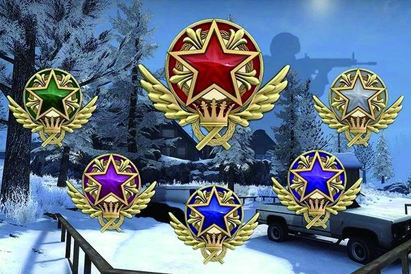CSGO服役勋章怎么获得?不同颜色的服役勋章有何不同?