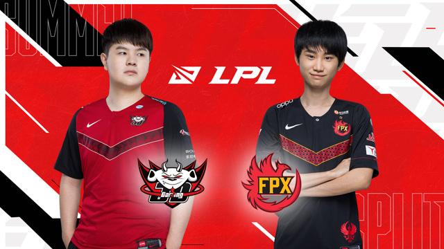 2020LPL夏季赛常规赛 FPX vs JDG 第二场