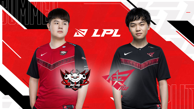 2020LPL夏季赛常规赛 JDG vs RW 第二场