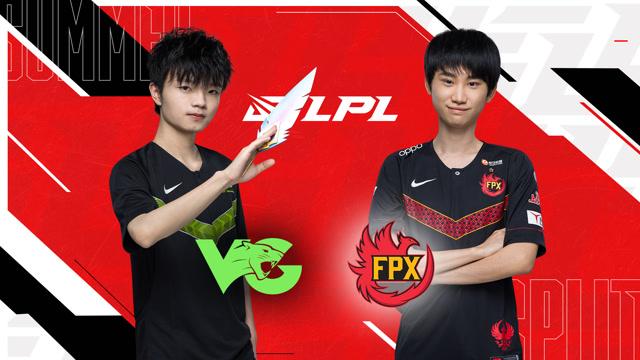 2020LPL夏季赛常规赛 VG vs FPX 第二场