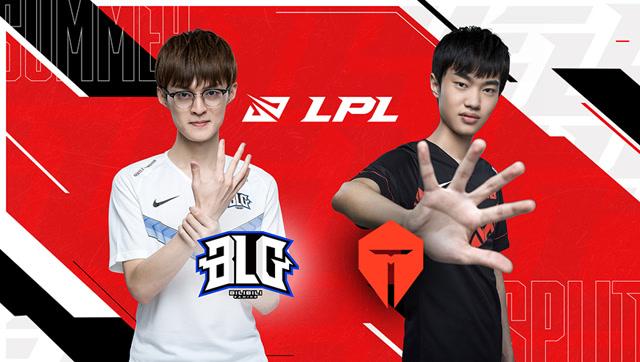 2020年LPL夏季赛常规赛 BLG vs TES 第一场