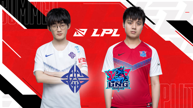 2020职业联赛 夏季赛常规赛 ES vs LNG BO3第1场