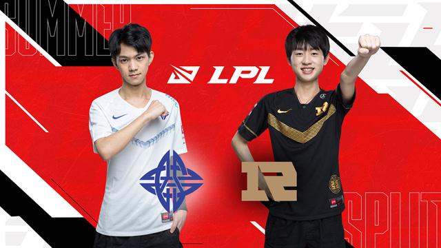 2020职业联赛 夏季赛常规赛 ES vs RNG BO3第2场