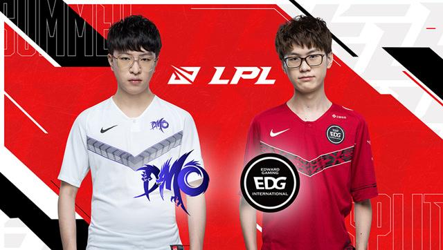 2020职业联赛 夏季赛常规赛 DMO vs EDG BO3第1场
