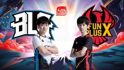 LPL夏季赛比赛视频W2D4 BLG vs FPX 第2场