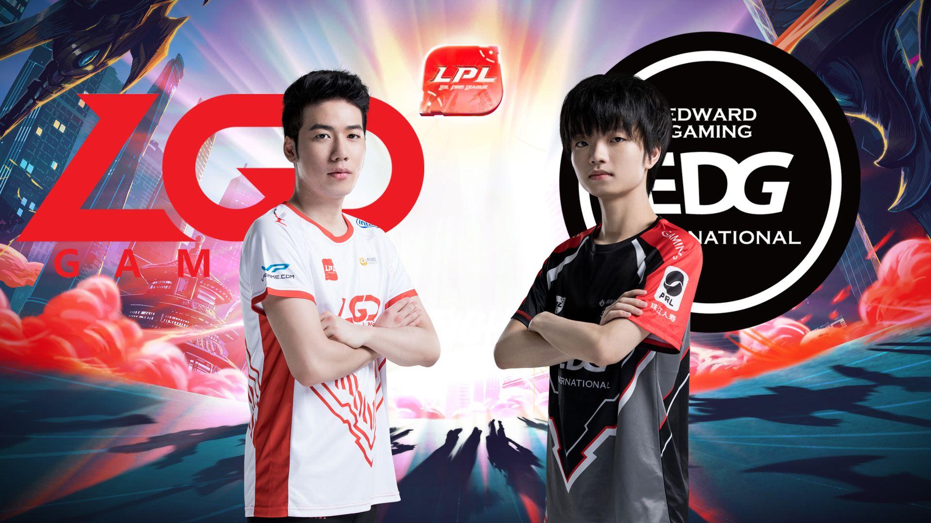LPL夏季赛比赛视频W5D6 LGD vs EDG 第3场