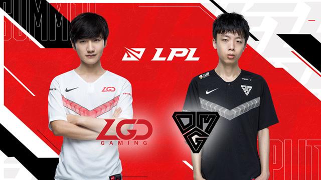 2020职业联赛 夏季赛常规赛 LGD vs OMG BO3第2场
