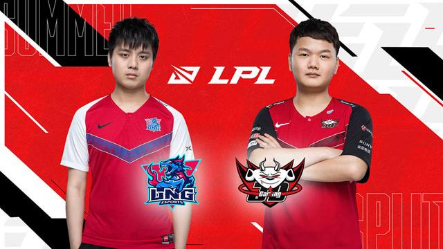 2020职业联赛 夏季赛常规赛 LNG vs JDG BO3第1场