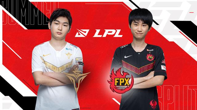 2020职业联赛 夏季赛季后赛 V5 vs FPX BO5第4场