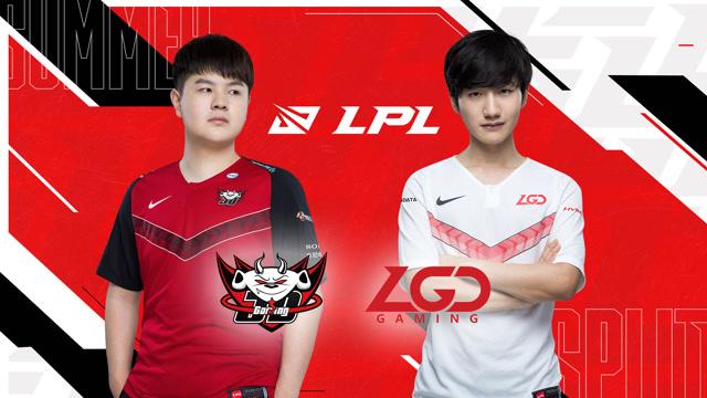 2020职业联赛 夏季赛季后赛 JDG vs LGD BO5第2场