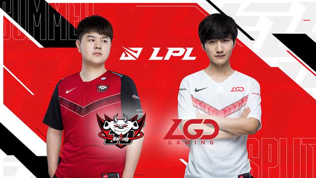 2020职业联赛 夏季赛季后赛 JDG vs LGD BO5第3场