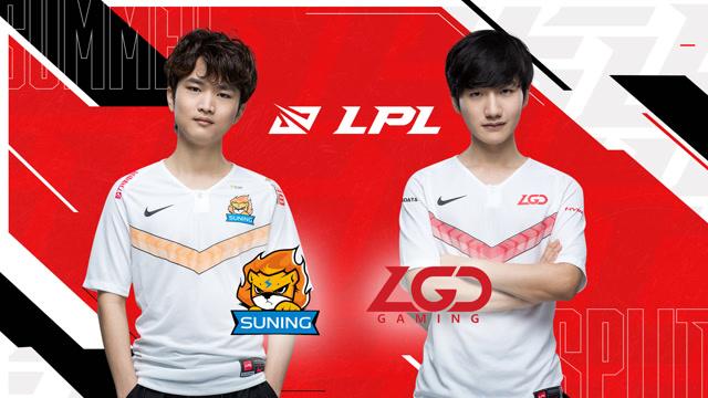2020职业联赛 全球总决赛资格赛 SN vs LGD BO5第1场