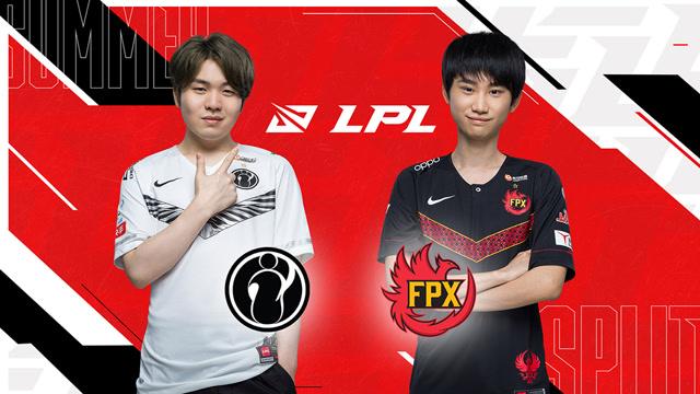 2020职业联赛 全球总决赛资格赛 IG vs FPX BO5第3场