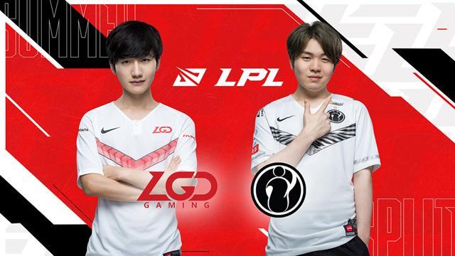 2020职业联赛 全球总决赛资格赛 LGD vs IG BO5第1场