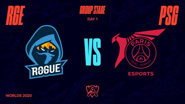 2020全球总决赛 小组赛 RGE vs PSG BO1第1场