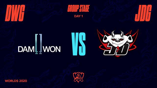 2020全球总决赛 小组赛 DWG vs JDG BO1第1场