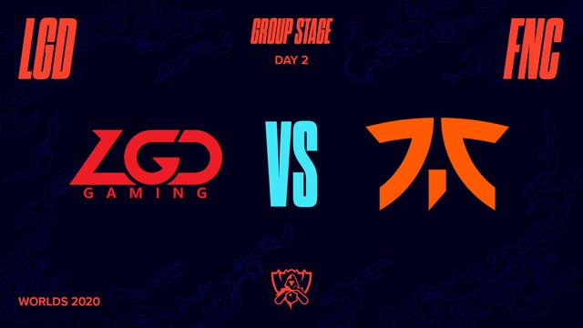 2020全球总决赛 小组赛 LGD vs FNC BO1第1场