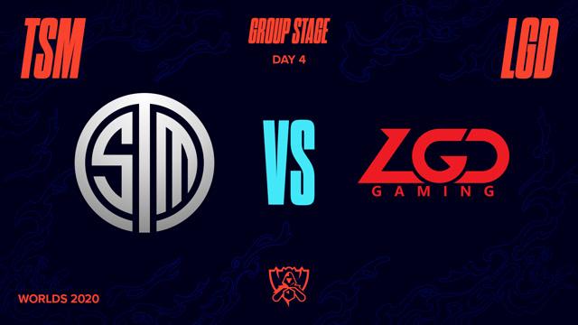2020全球总决赛 小组赛 TSM vs LGD BO1第1场