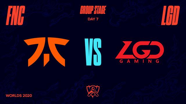 2020全球总决赛 小组赛 FNC vs LGD BO1第1场