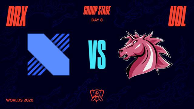 2020全球总决赛 小组赛 DRX vs UOL BO1第1场