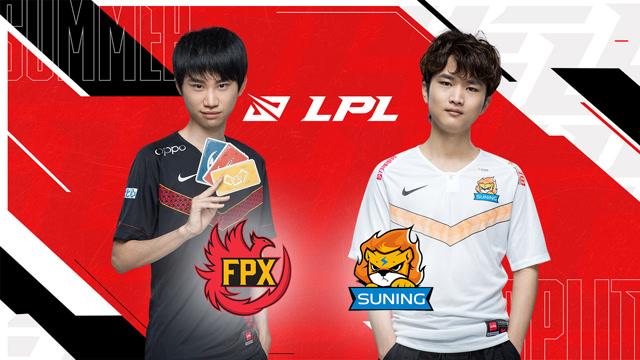 2020LPL夏季赛常规赛 FPX vs SN 第三场