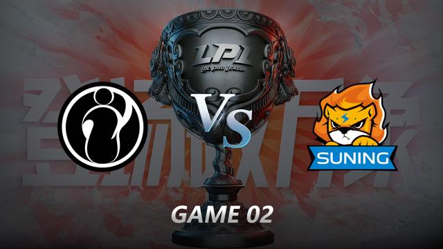 2021LPL夏季赛常规赛 IG VS SN 第二局