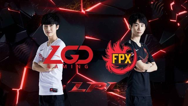 2020LPL职业联赛春季赛 LGD vs FPX 第二场
