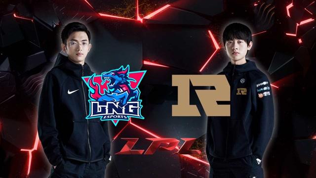 2020LPL职业联赛春季赛 LNG vs RNG 第一场
