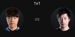 2016全明星赛1v1模式:Impact vs ClearLove